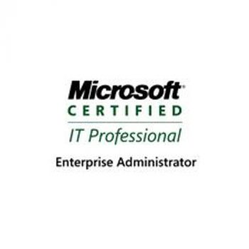 Microsoft Certified IT Professional Enterprise Administrator (MCITP:EA)
